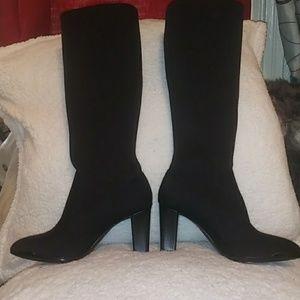 Anne Klein sport black boots